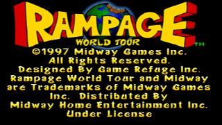 Screenshot Thumbnail / Media File 1 for Rampage World Tour [U]